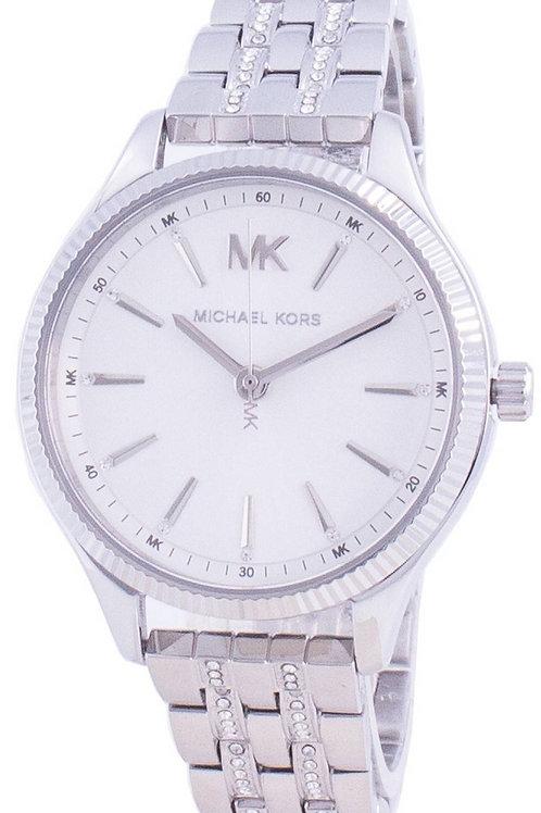 Michael Kors Lexington Quartz Diamond Accents Women's Watch