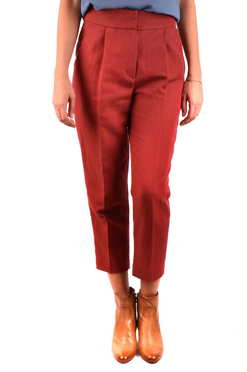 Trousers Brunello Cucinelli Red