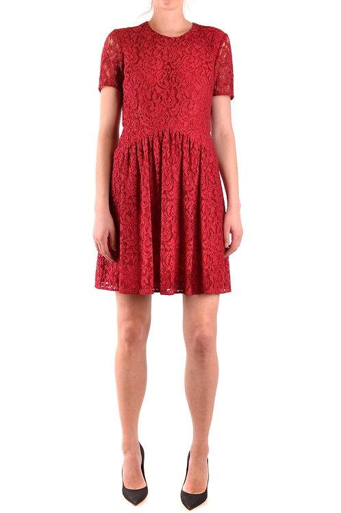Dress Burberry Burgundy Midi