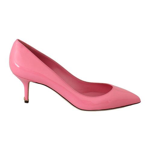 Dolce & Gabbana Women's Pink Patent Pumps