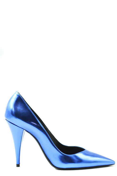 Saint Laurent 2020 Blue Stiletto