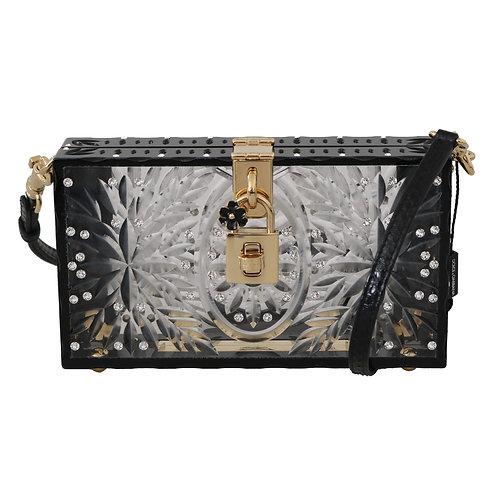 Dolce & Gabbana Women's Black Box Clutch Bag