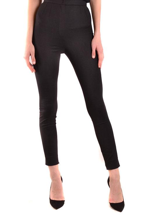 Trousers Dolce & Gabbana Black Slim