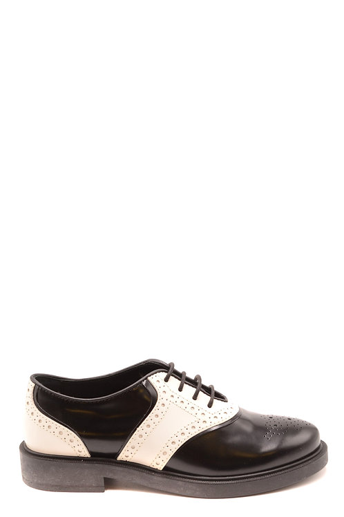 Tod's  Black&White Leather Casual