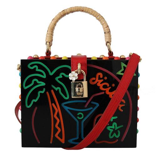Dolce & Gabbana Women's Plexi Led Clutch Bag
