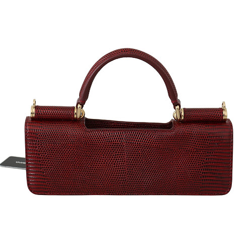 Dolce & Gabbana Women's Red Leather Micro Bag