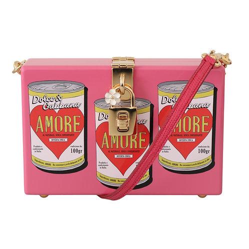 Dolce & Gabbana Women's Amore Can Clutch Bag