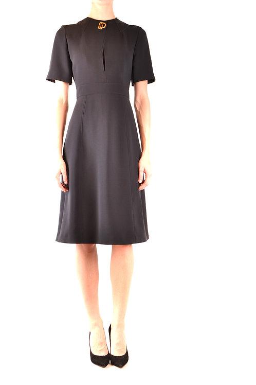 Dress Burberry Black Taglieur