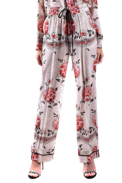 Trousers R.E.D. Valentino Silk