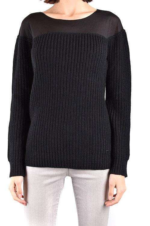Armani Jeans Black Sweater & Cardigan