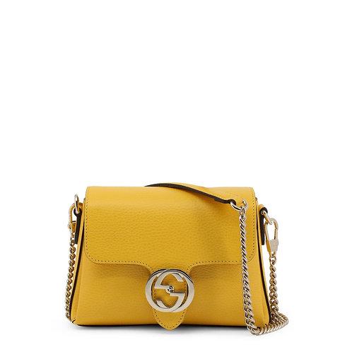 Gucci Medium Yellow Shoulder Bag