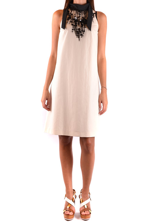 Dress Brunello Cucinelli White Taglieur