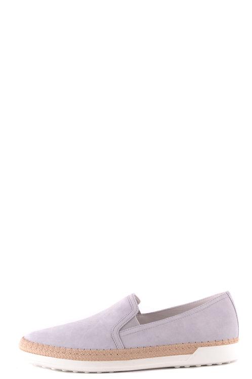 Tod's Gray Chamois Sneaker