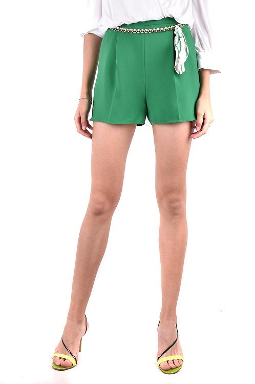 Shorts Elisabetta Franchi Green