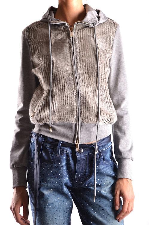 Dirk Bikkembergs Gray Sweatshirt