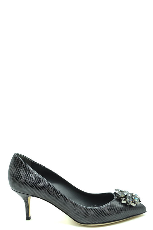 Dolce & Gabbana 2020 Dark Gray Pump