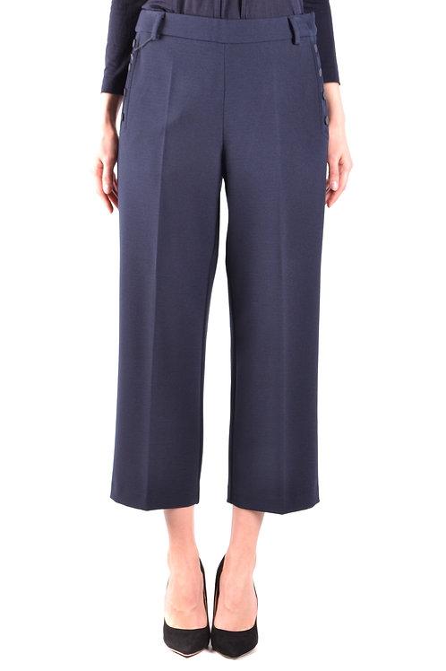 Trousers Armani Jeans Blue Wide-Leg