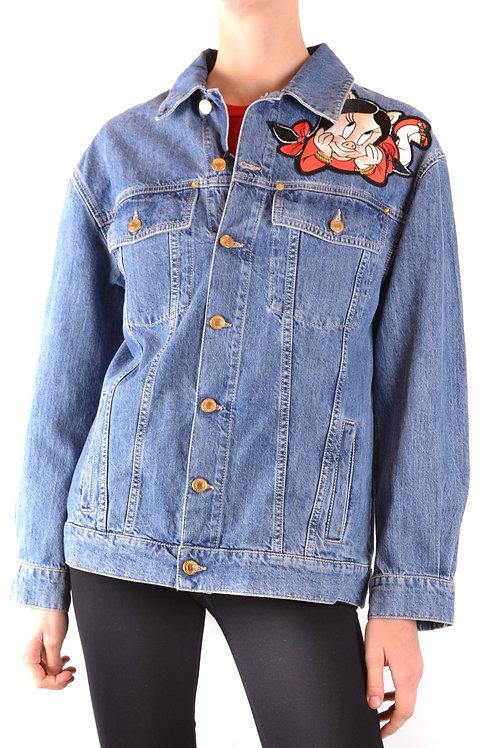 Moschino Blue Denim Jacket