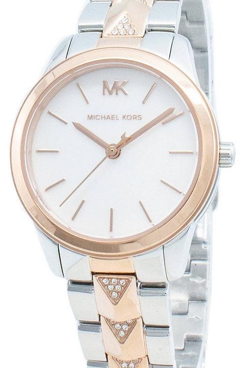 Michael Kors Runway Mercer  Diamond Accents Quartz Women's Watch