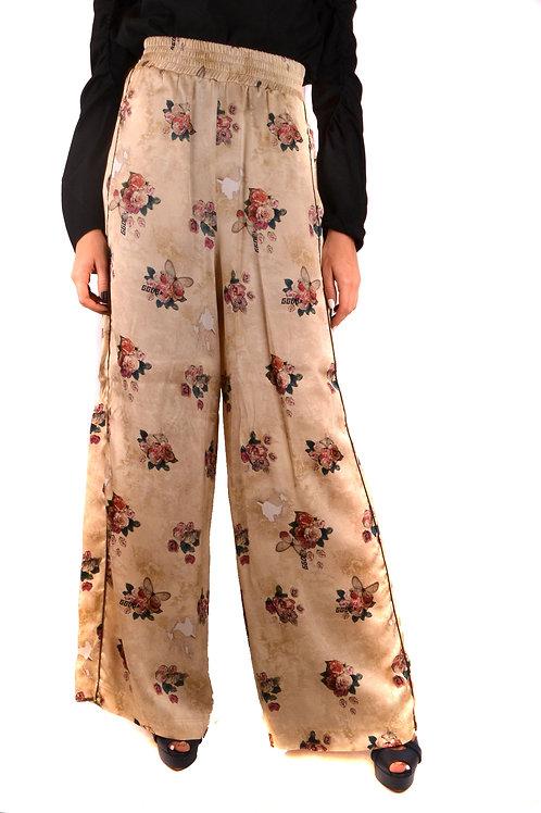 Golden Goose Floral Viscose Trousers