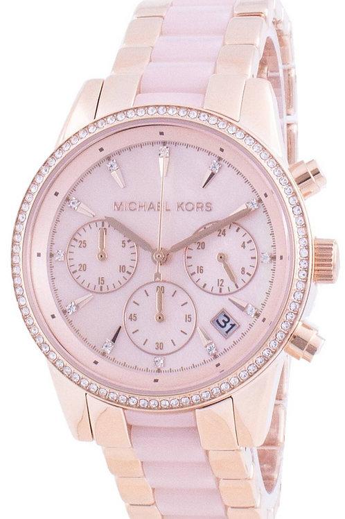 Michael Kors Ritz Diamond Accents Quartz Women's Watch