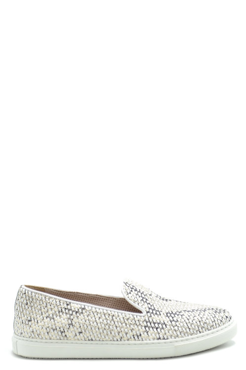 Fratelli Rossetti Silver Leather Sneaker