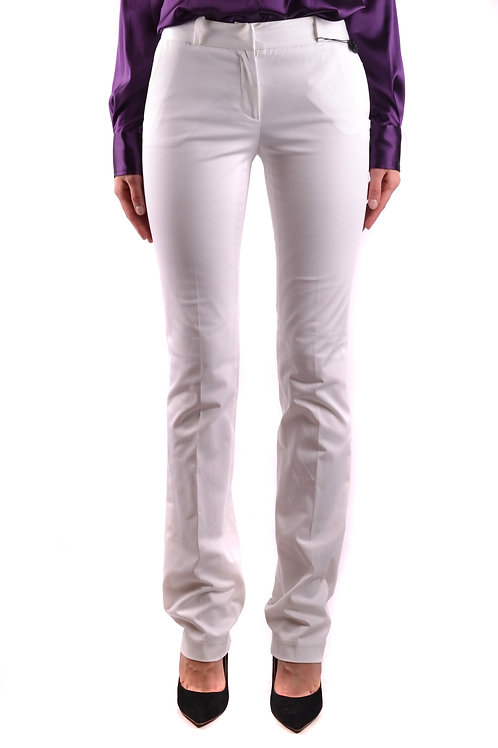 Trousers D&G Dolce & Gabbana White Cotton