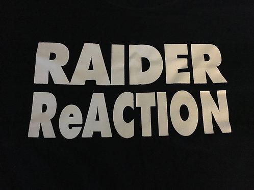 RAIDER ReACTION Black T-Shirt