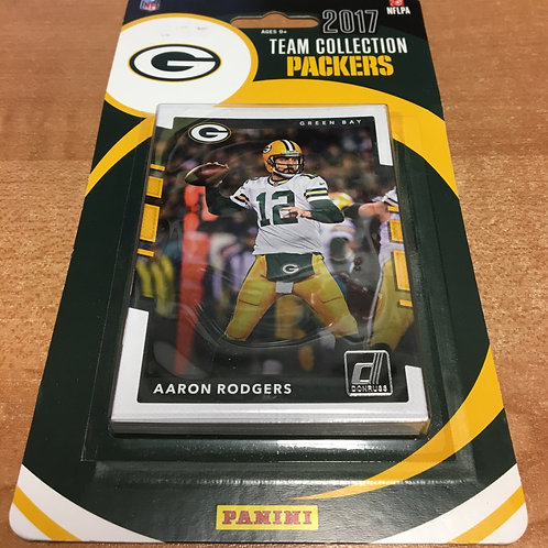 2017 Packers Team Collection Panini Football Card Set