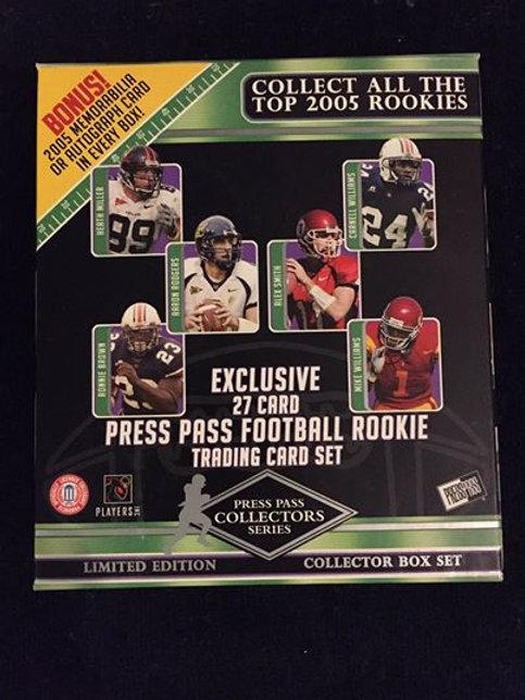 2005 Press Pass Rookie Set