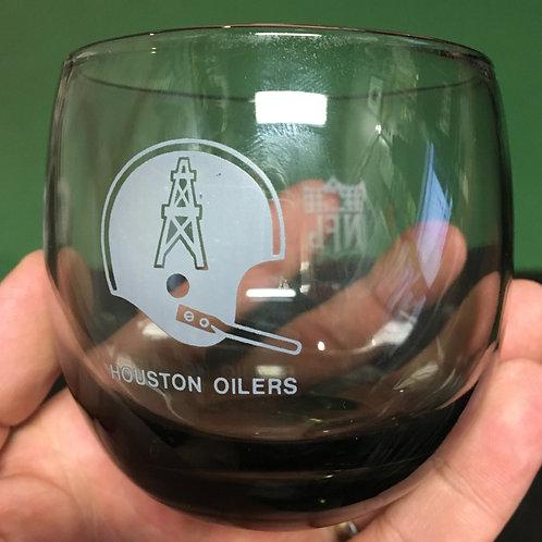 Vintage Oilers Glass Tumbler