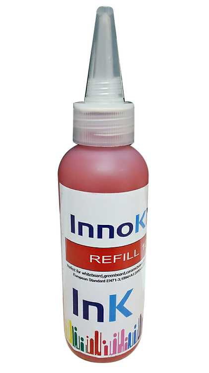 น้ำหมึกเติม InnoKlass สีแดง