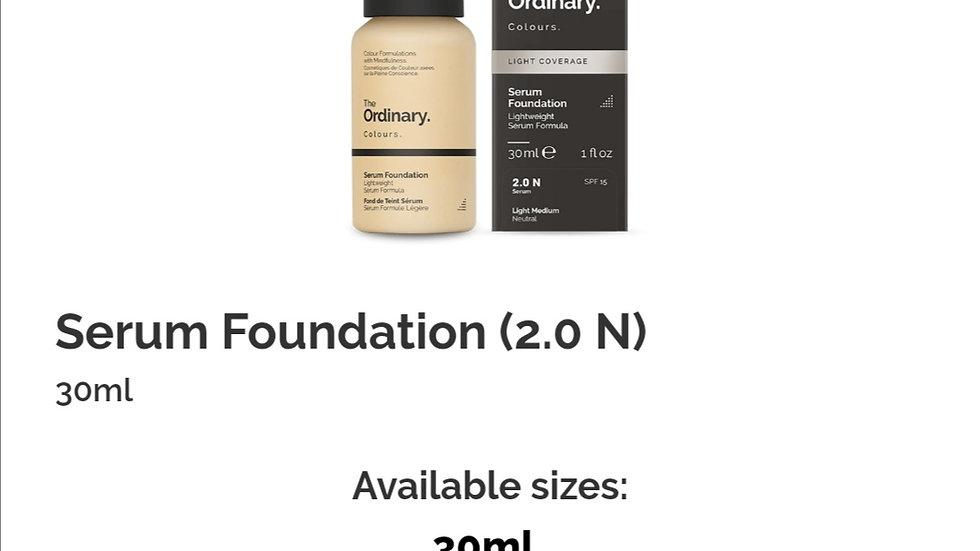 The Ordinary Serum Foundation 2.0 N