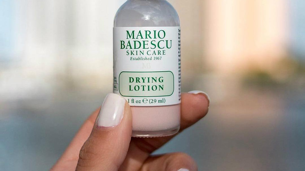 Mario Badescu Dying Lotion plastic bottle
