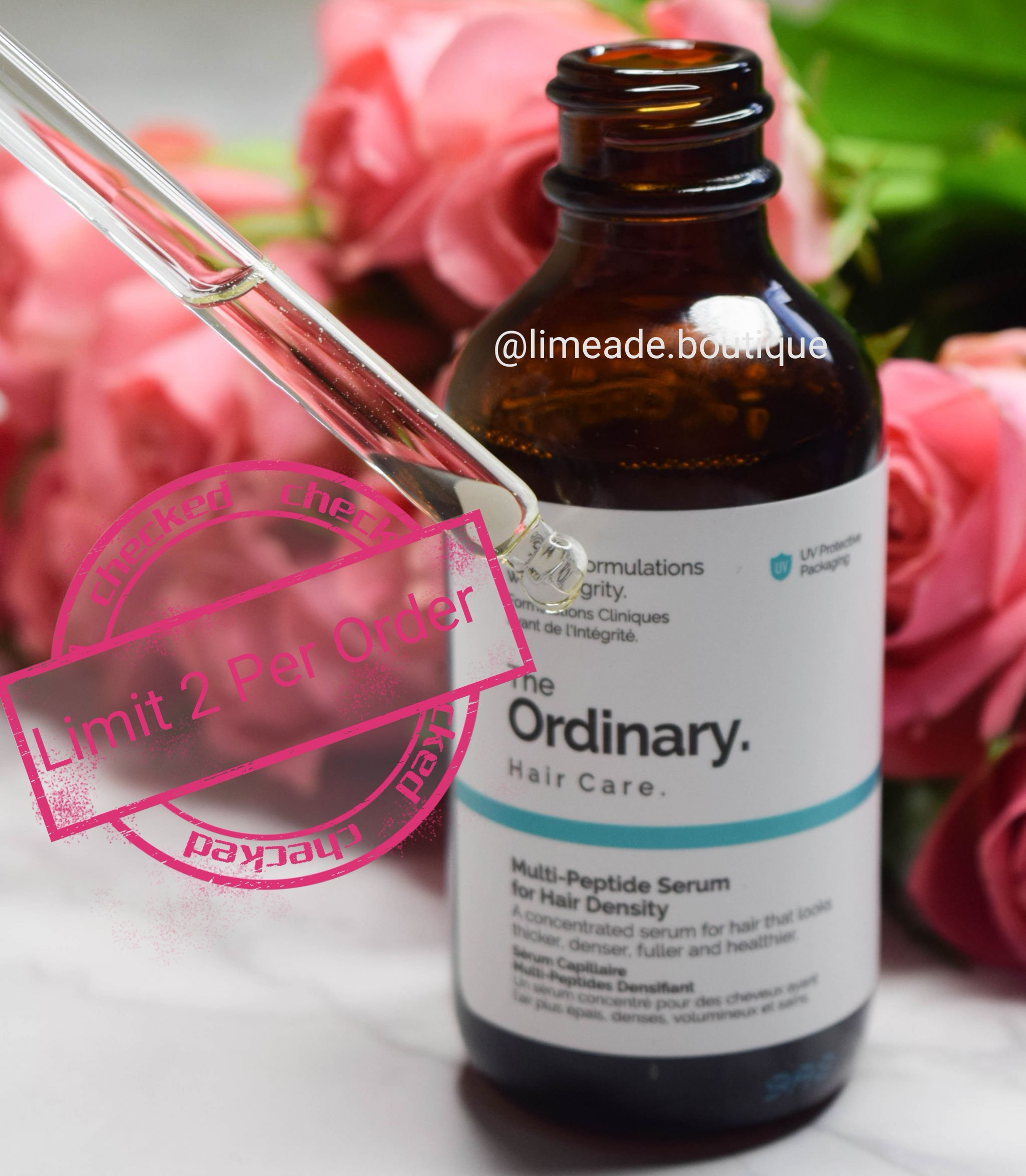 The Ordinary Multi Peptide Serum For Hair Density Beauty By Limeade