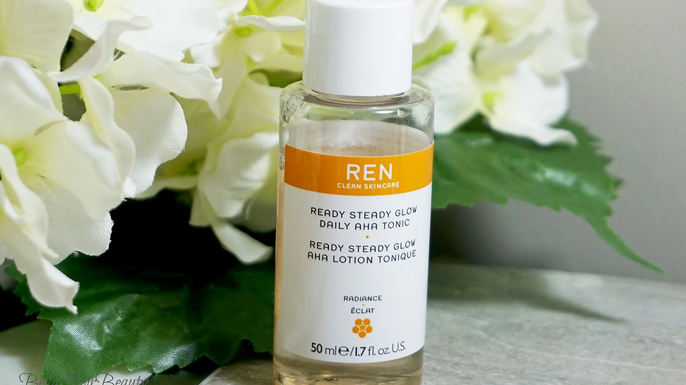 Ren Ready Steady Glow 50ml Daily AHA Tonic