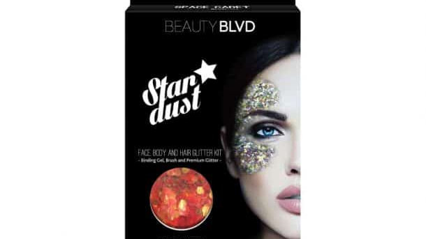 Beauty blvd Space-Cadet Stardust – Face, Body & Hair Glitter Kit