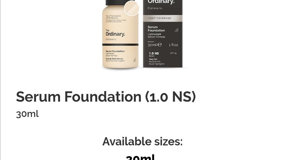The Ordinary Serum Foundation 1.0NS