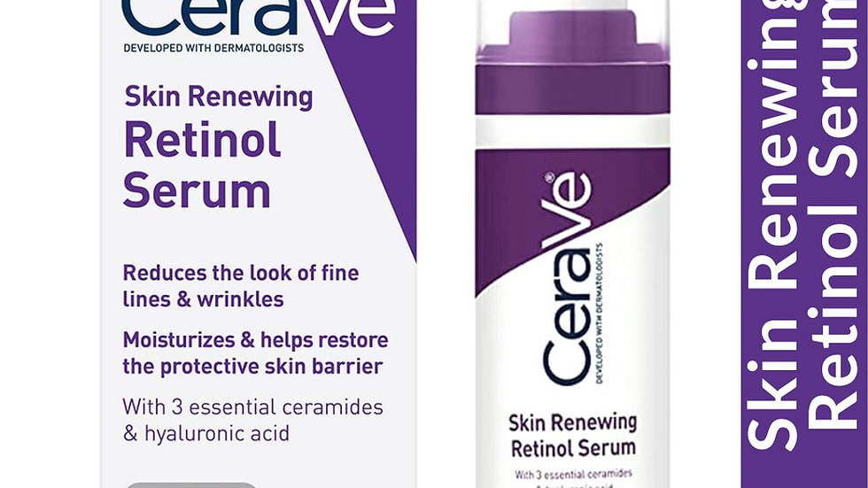 CeraVe Skin Renewing Retinol Serum, 1 fl oz (30 ml)