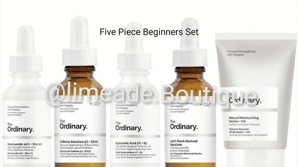 The Ordinary Five Piece Beginners Set