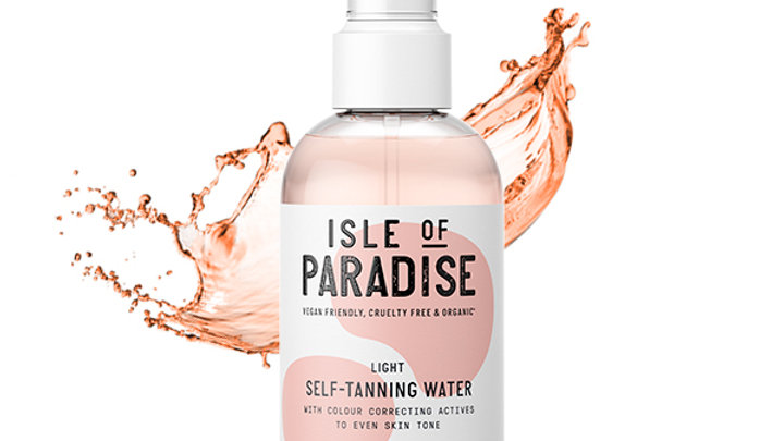 Isle Of Paradise Light Self Tanning Water