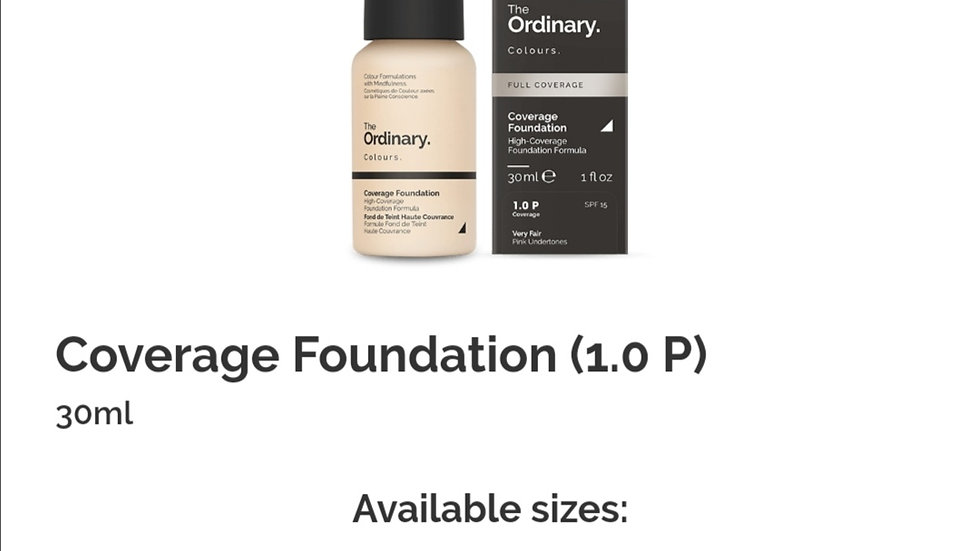 The Ordinary Coverage Foundation 1.0P