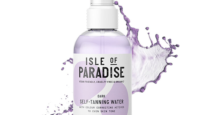 Isle Of Paradise Dark Self Tanning Water