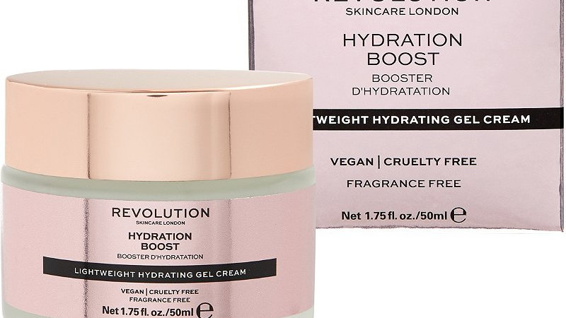 Revolution Skincare Lightweight Hydrating Gel-Cream - Hydration Boost