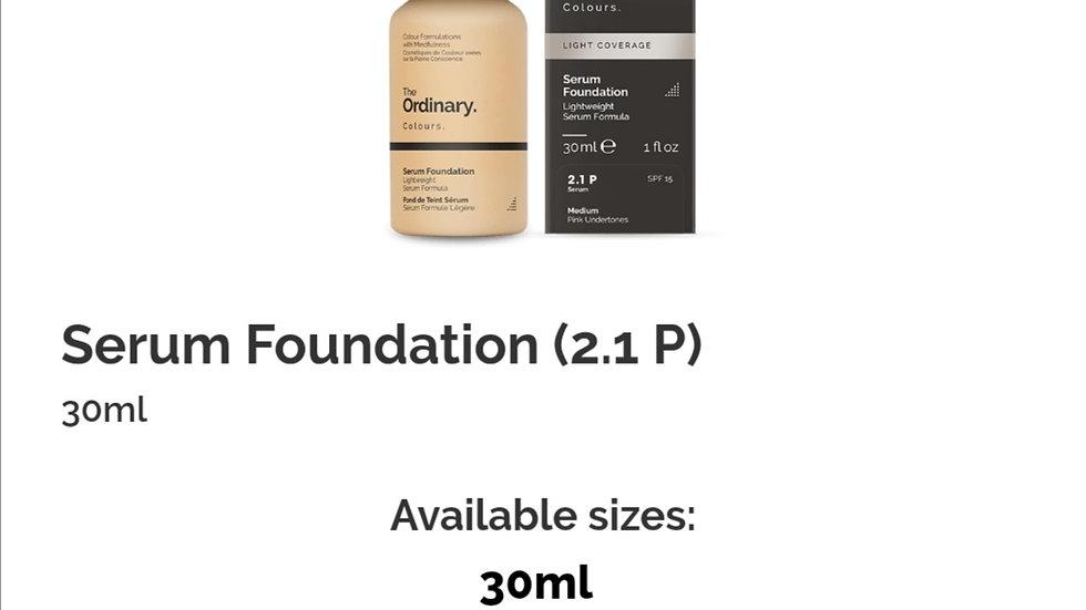 The Ordinary Serum Foundation 2.1P