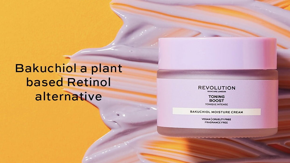 Revolution Skincare Toning Boost Moisture Cream with Bakuchiol