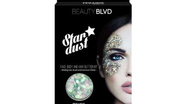 Beauty  blvd Pegasus Stardust – Face, Body & Hair Glitter Kit