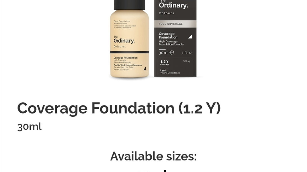 The Ordinary Coverage Foundation 1.2 Y