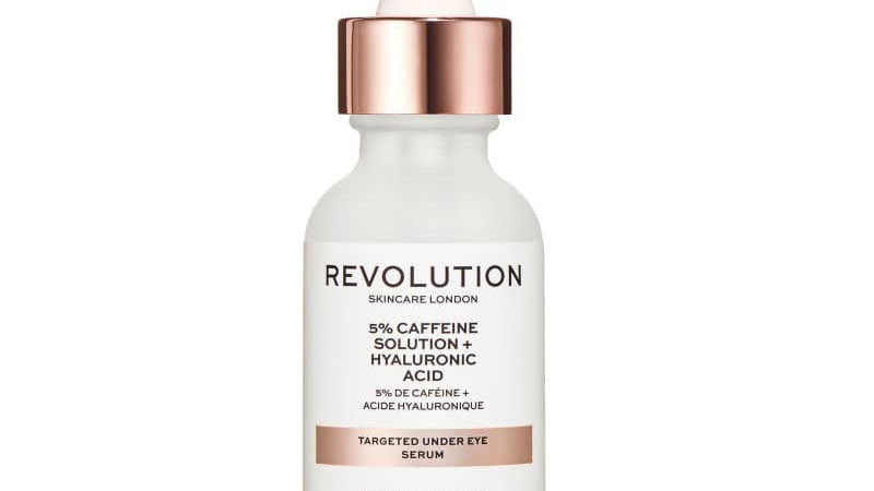 Revolution Skincare Targeted Under Eye Serum - 5% Caffeine + Hyaluronic Acid Ser