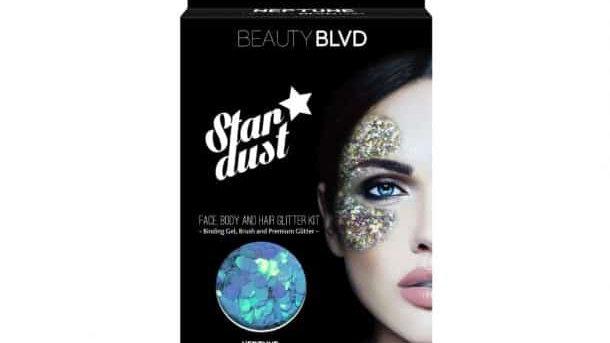 Beauty Blvd Neptune Stardust – Face, Body & Hair Glitter Kit